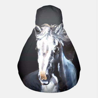 Thumbnail image of Horse Ghost Pouf, Live Heroes