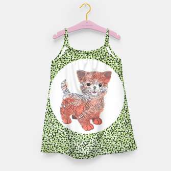 Thumbnail image of Kiddy Cat girls dress (matching leggings available!), Live Heroes