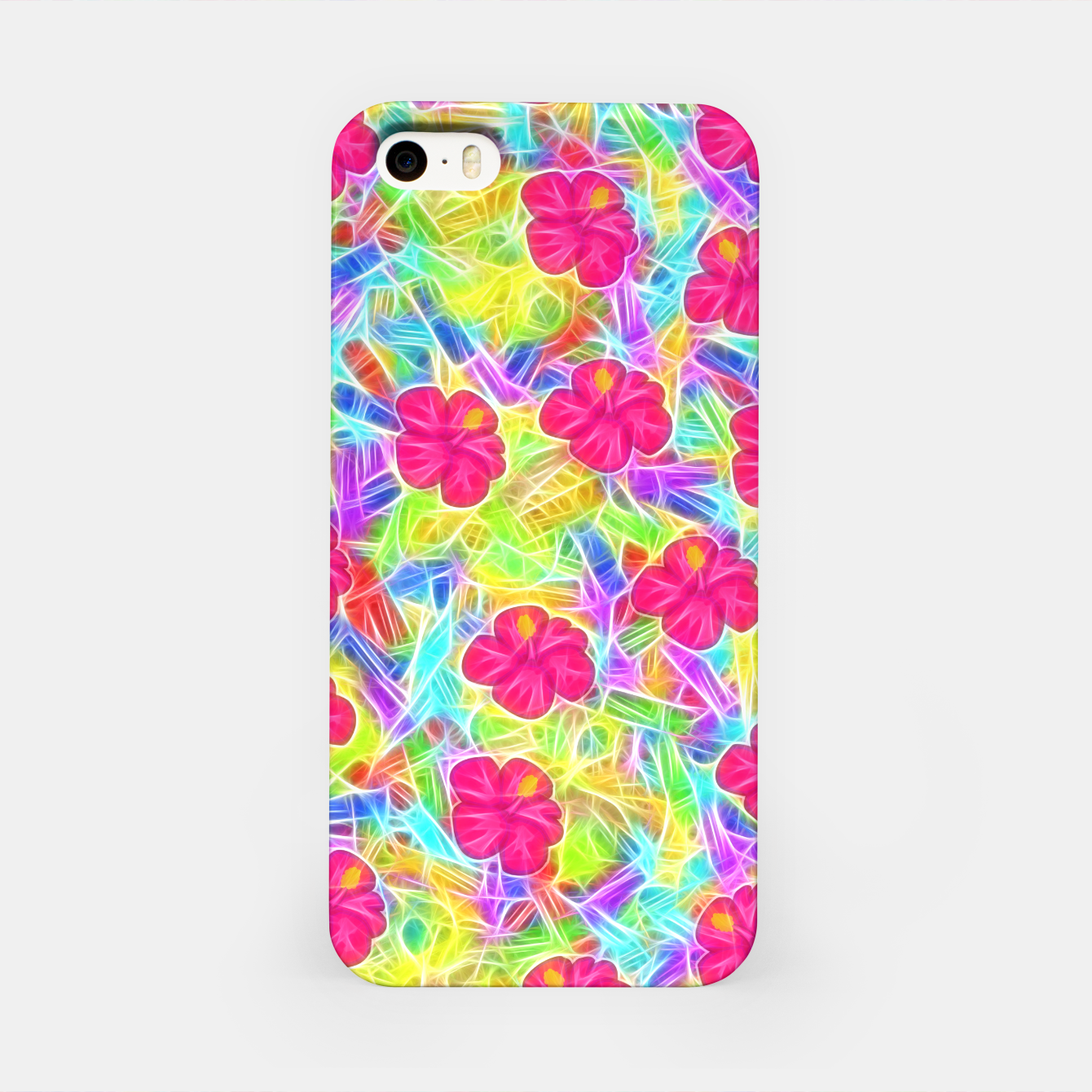 Image of Hawaiian Pink Flowers iPhone Case - Live Heroes