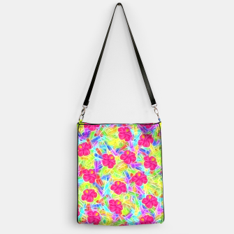 Hawaiian Pink Flowers Handbag thumbnail image