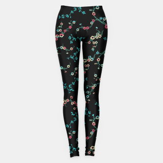 Thumbnail image of Womens Night Flower Leggings, Live Heroes