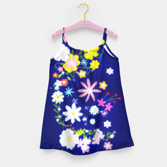 Miniatur Flower Power Painting  Girl's Dress, Live Heroes