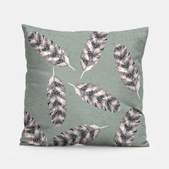 Thumbnail image of Feathers  Pillow, Live Heroes