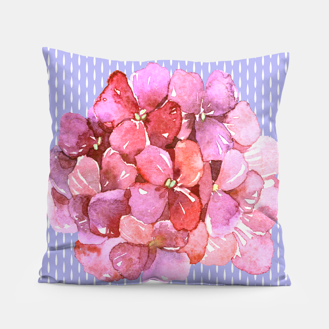 Image of Pink Flowers  Pillow - Live Heroes