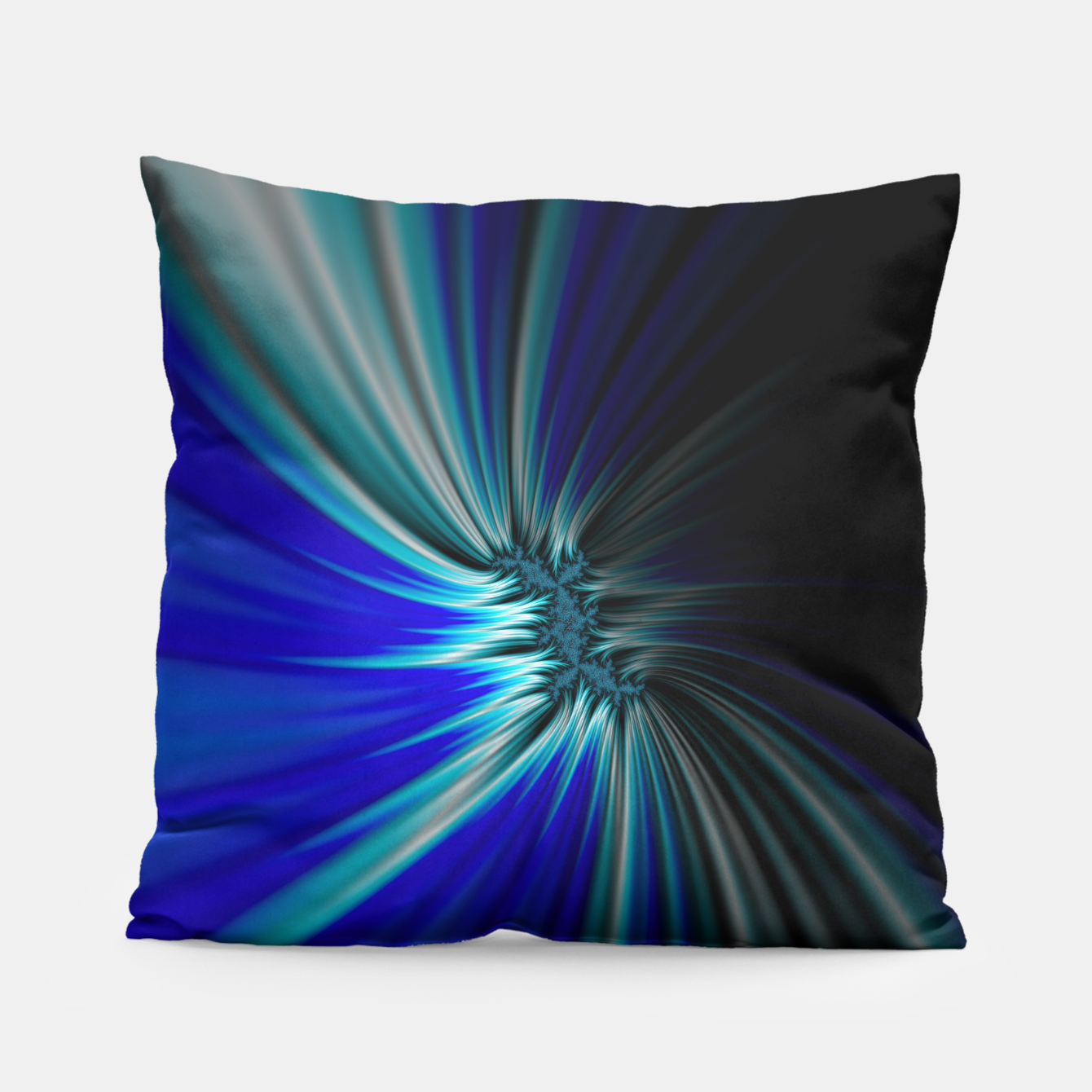 Image of Blue Space  Pillow - Live Heroes