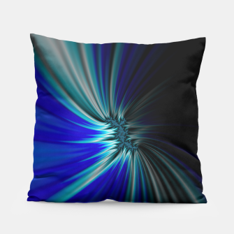 Thumbnail image of Blue Space  Pillow, Live Heroes