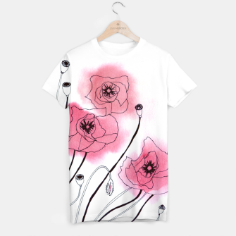 Thumbnail image of Poppies T-shirt, Live Heroes