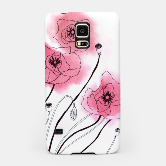 Poppies Samsung Case thumbnail image