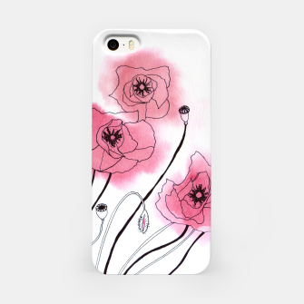 Thumbnail image of Poppies iPhone Case, Live Heroes