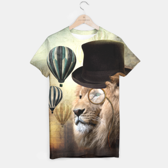 Sir Edgard Blackwood [Steampunk Animals] T-shirt miniature