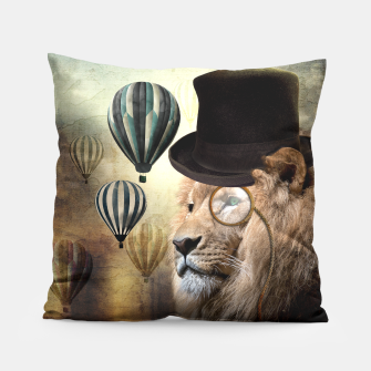 Sir Edgard Blackwood [Steampunk Animals] Coussin miniature