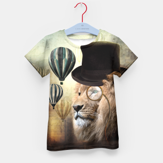 Sir Edgard Blackwood [Steampunk Animals] Enfantin T-shirt miniature