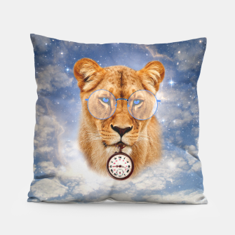 The Guardian of time [Steampunk Animals] Coussin miniature