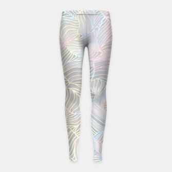 Thumbnail image of fd1 Girl's Leggings, Live Heroes