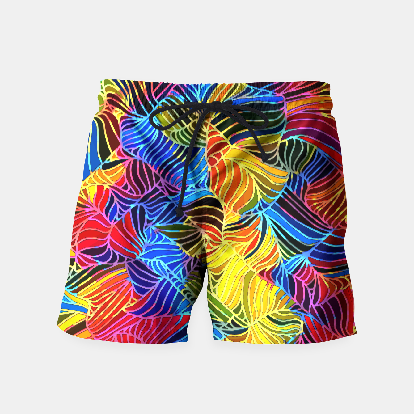 Image of fd2 Swim Shorts - Live Heroes