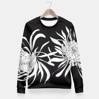 Thumbnail image of Chrysanthemums Fitted Waist Sweater, Live Heroes