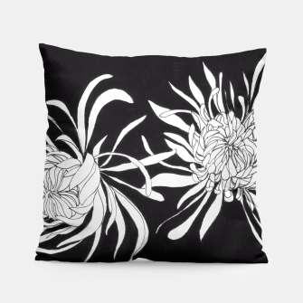 Thumbnail image of Chrysanthemums Pillow, Live Heroes
