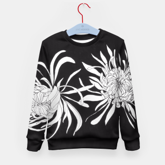 Thumbnail image of Chrysanthemums Kid's Sweater, Live Heroes