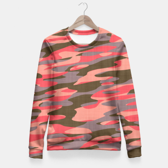 Doe Camo Fitted Waist Sweater thumbnail image