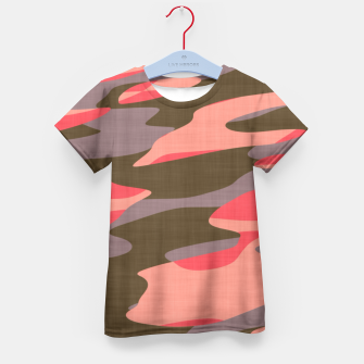 Doe Camo Kid's T-shirt thumbnail image