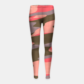 Doe Camo Girl's Leggings thumbnail image