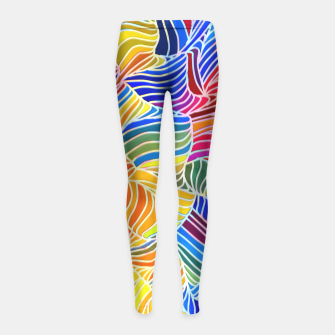 Thumbnail image of fd3 Girl's Leggings, Live Heroes