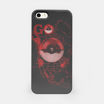 Thumbnail image of Pokemon Go Map iPhone Case, Live Heroes