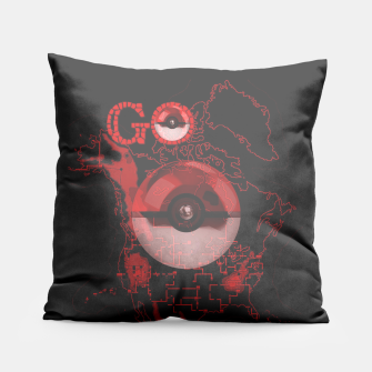 Thumbnail image of Pokemon Go Map Pillow, Live Heroes