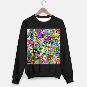 Thumbnail image of Monsters Doodles Characters Saga Sweater regular, Live Heroes