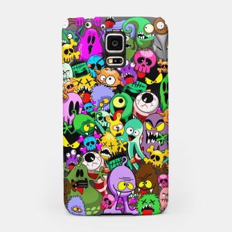 Thumbnail image of Monsters Doodles Characters Saga Samsung Case, Live Heroes
