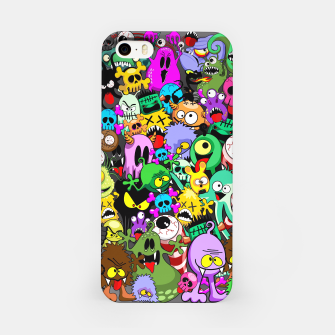 Thumbnail image of Monsters Doodles Characters Saga iPhone Case, Live Heroes