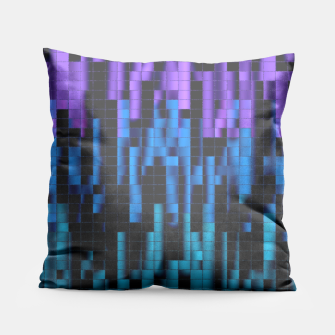 Thumbnail image of Mosaic Color Bars Pillow, Live Heroes