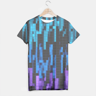 Thumbnail image of Mosaic Color Bars T-shirt 3, Live Heroes