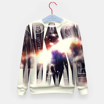 Thumbnail image of Space Time Kid's Sweater, Live Heroes