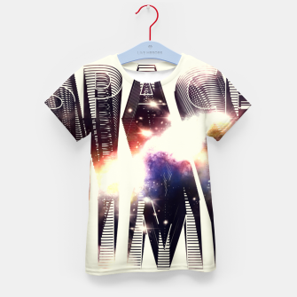 Thumbnail image of Space Time Kid's T-shirt, Live Heroes