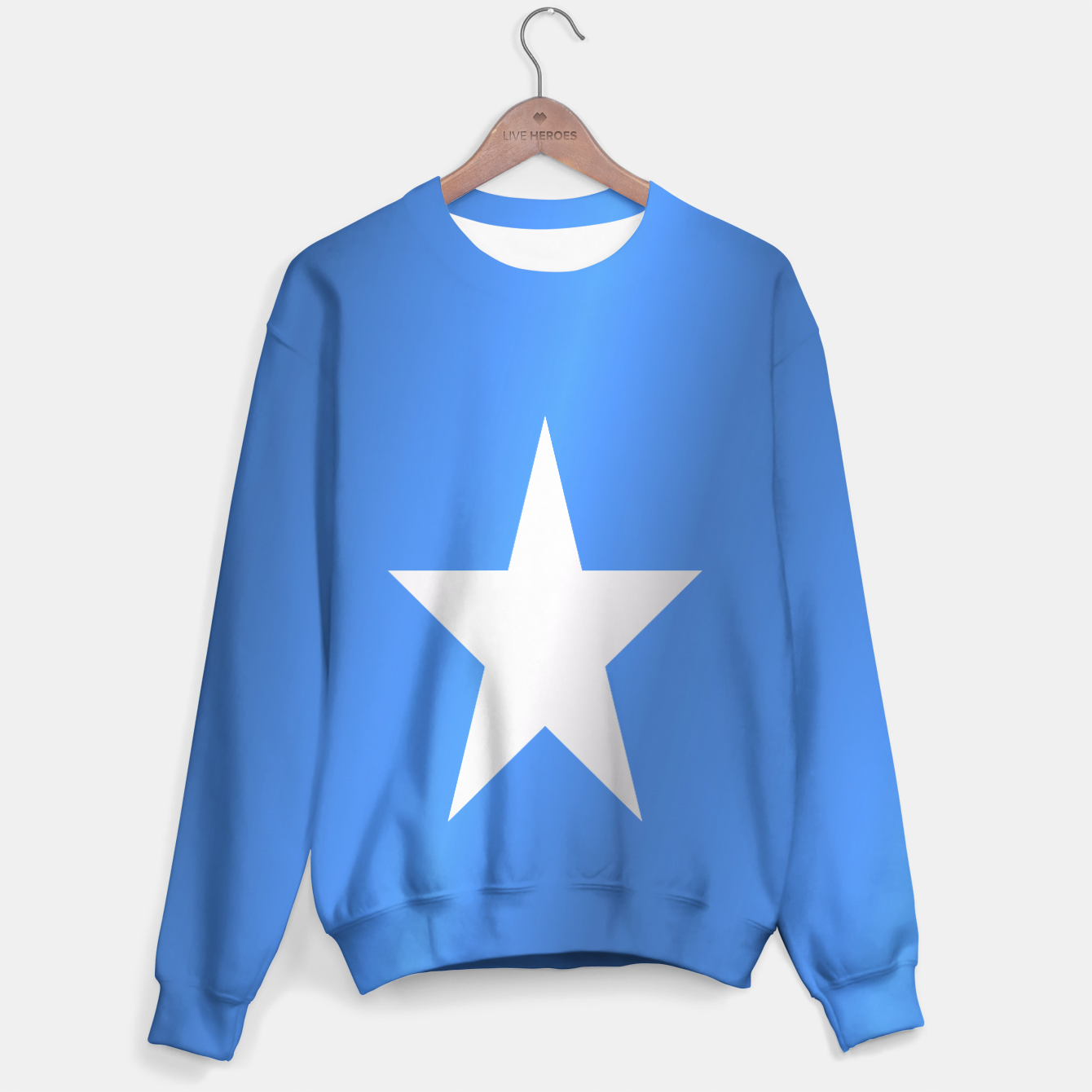 Flag of Somalia Sweater, Live Heroes