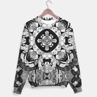 Thumbnail image of Windows of Geometry Sweater, Live Heroes