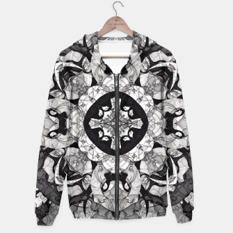Thumbnail image of Windows of Geometry Hoodie, Live Heroes