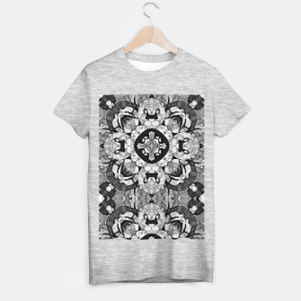 Thumbnail image of Windows of Geometry T-shirt regular, Live Heroes