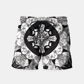 Thumbnail image of Windows of Geometry Swim Shorts, Live Heroes