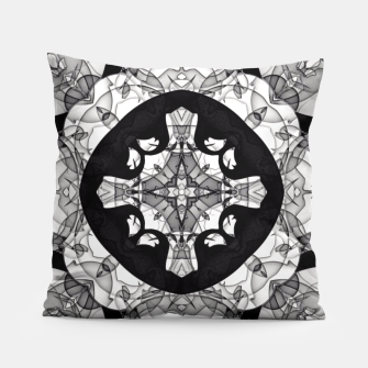 Thumbnail image of Windows of Geometry Pillow, Live Heroes