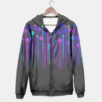 Thumbnail image of Colorful Dots & Drips Hoodie, Live Heroes