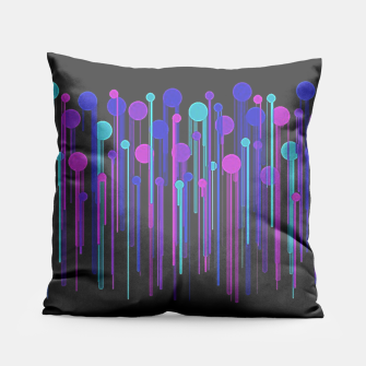 Thumbnail image of Colorful Dots & Drips Pillow, Live Heroes