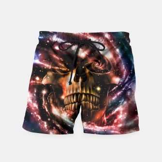 Thumbnail image of Space Skull II Swim Shorts, Live Heroes