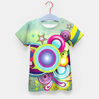Thumbnail image of Abstract modern fantasy Kid's T-shirt, Live Heroes