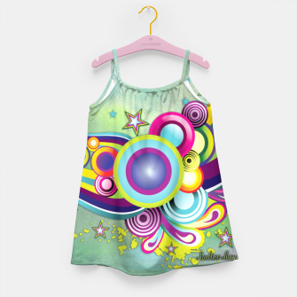 Thumbnail image of Abstract modern fantasy Girl's Dress, Live Heroes