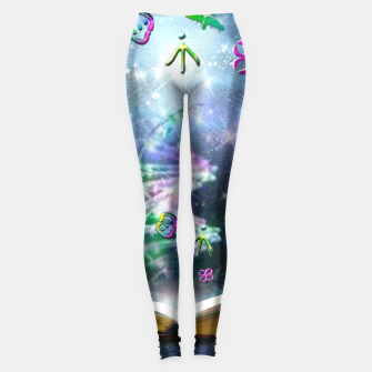 Thumbnail image of Language of Light Leggings, Live Heroes