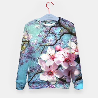 Thumbnail image of Cherry blossoms Kid's Sweater, Live Heroes