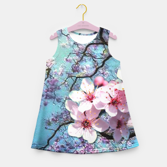 Thumbnail image of Cherry blossoms Girl's Summer Dress, Live Heroes