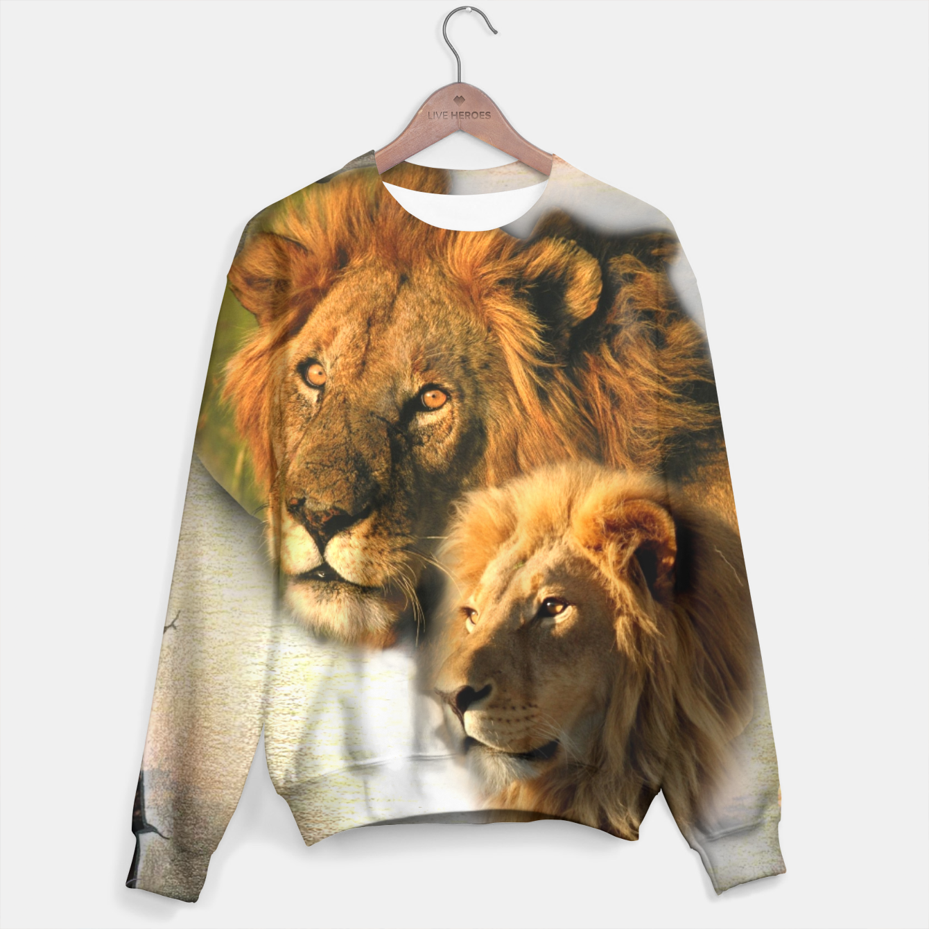 Image of Wild Animals Sweater - Live Heroes